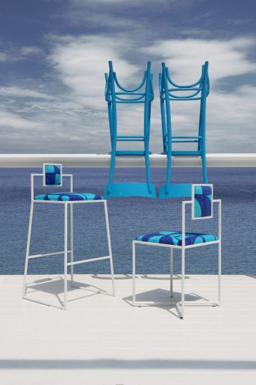 Capri Chair & Barstool 01